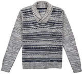 Nautica Little Boys' Reverse Stripe Sweater (4-7)