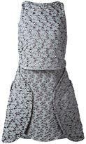 Antonio Berardi textured dress - women - Polyamide/Polyester - 38