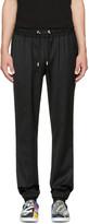 Versus Black Cuffed Trousers