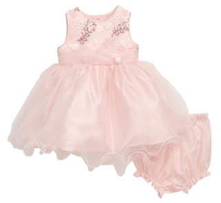 Frais Curly Hem Sequin Embellished Ballerina Dress