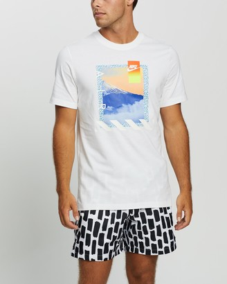 Nike Men's White Short Sleeve T-Shirts - Nature Photo Tee - Size XXL at The Iconic