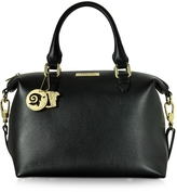 Versace Leather Satchel Bag w/Shoulder Strap