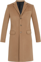 Givenchy Notch-lapel wool and cashmere-blend overcoat