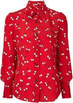 Miu Miu cherry print shirt