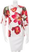 Dolce & Gabbana 2016 Tulip Print Top w/ Tags