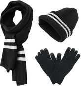 JSHANMEI Fashion Warm Accessories Knit Hat Scarf Glove Set Winter Perfect Gift