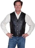 Scully Men's Lambskin Lapel Vest 509