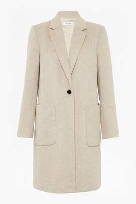 Alresford Linen Mirabelle Coat Stone - 12