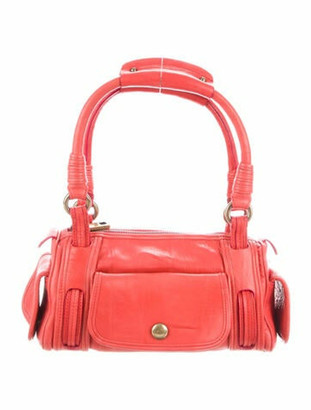 Marc Jacobs Leather Shoulder Bag Red