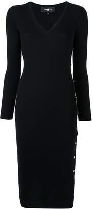 Paule Ka ribbed-knit dress