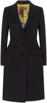 Dolce & Gabbana Wool-Cashmere Coat