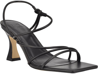 Marc Fisher Dami Strappy Kitten-Heel Sandals