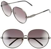 Wildfox Couture Women's Fleur Retro Metal Frame Sunglasses