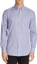 Tailorbyrd Aston Martin Dobby Dot Regular Fit Button-Down Shirt