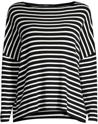 Max Mara Striped Dolman Sweater