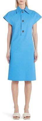 Bottega Veneta Short Sleeve Poplin Dress