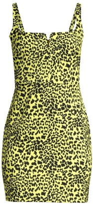 LIKELY Constance Leopard Print Sheath Dress