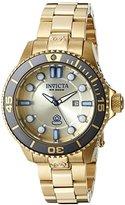 Invicta Women's 19824 Pro Diver Analog Display Swiss Quartz Gold Watch