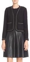 Rebecca Taylor Women's Stretch Boucle Jacket