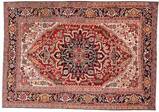 "One Kings Lane Vintage Antique Persian Heriz Rug - 6' 3"" x 9' 3"" - Apadana - red"