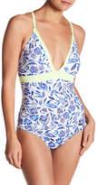 Saha Swimwear Crossed Back One-Piece