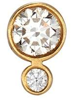 Sophie Bille Brahe 'Lulu Claire' diamond 18k yellow gold single earring
