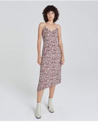 AG Jeans The Scarlet Dress - Shallow Animal Rich Crimson
