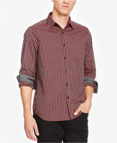 Kenneth Cole New York Men's Classic-Fit Gingham Shirt