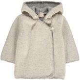 Ketiketa Cashmere Wool Hooded Wrap Cardigan