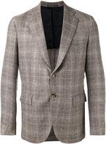 Eleventy chest pocket blazer - men - Silk/Linen/Flax/Cupro/Wool - 48
