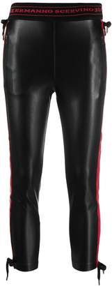 Ermanno Scervino cropped leather trousers