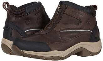 Ariat Telluride Zip Waterproof (Dark Brown) Women's Zip Boots