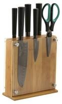Oneida 7pc Titanium Knife Block Set