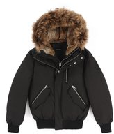 Mackage Men Dixon Hip Length Winter Down Parka with Fur