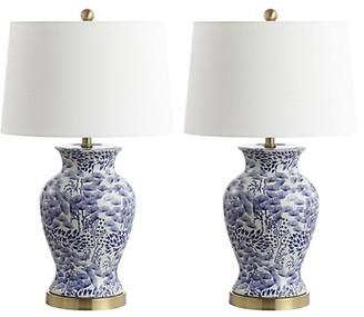 Safavieh Alona 2-Piece Ceramic Table Lamp Set