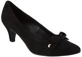 John Lewis Addie Pointed Toe Court Shoes, Black