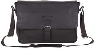 Ben Sherman Premium Karino Leather Laptop Case