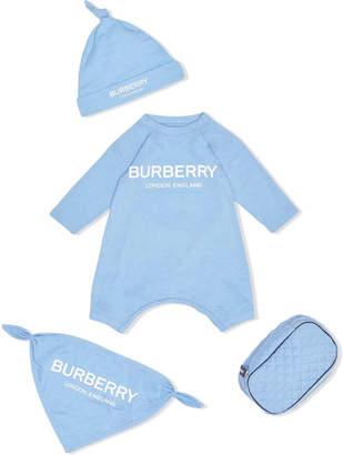 Burberry Blue Baby Set