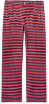 Sleepy Jones - Marcel Striped Cotton-jersey Pyjama Trousers