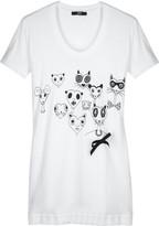 Markus Lupfer Rachel cat print T-shirt
