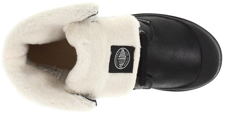 Palladium Baggy Leather S Boys Shoes