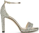 Jimmy Choo Misty sparkle heeled sandals