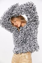 Glamorous Loopy Fringe Pullover Sweater