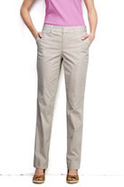 Classic Women's Pre-hemmed Mid Rise Straight Leg Chino Pants-Rich Red