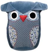 Stuffed Blue Owl Pillow