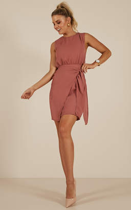 Showpo French Kisses dress in rose - 8 (S) Sale Dresses