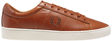 Fred Perry Spencer Leather Lace-up Trainers, Tan
