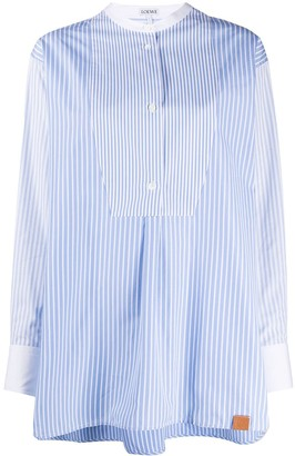 Loewe Striped Cotton Tunic Shirt