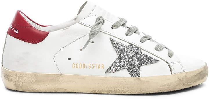 Golden Goose Leather Superstar Sneakers