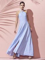 New York & Co. Halter Maxi Dress - Stripe